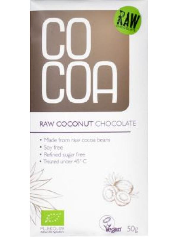 RAW kokosová čokoláda