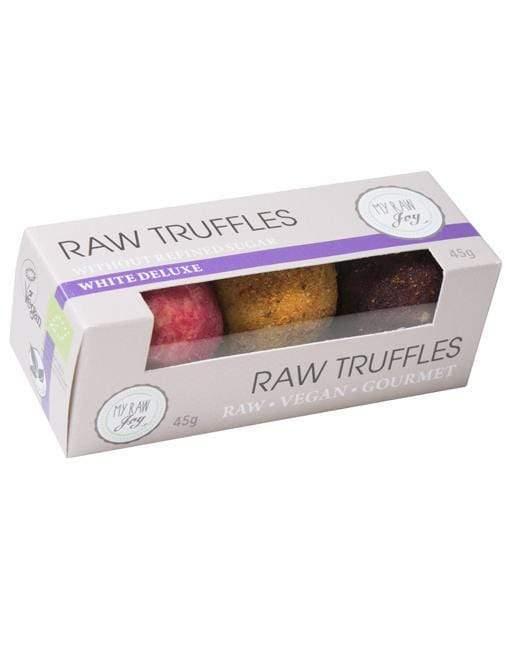 RAW  truffles biele deluxe
