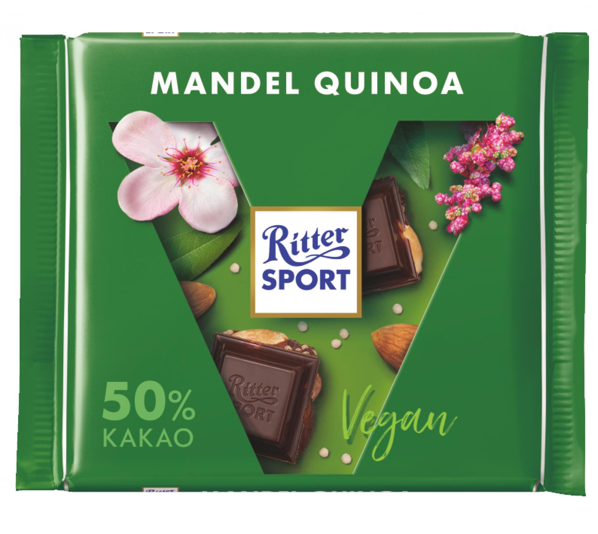 Čokoláda mandle, quinoa