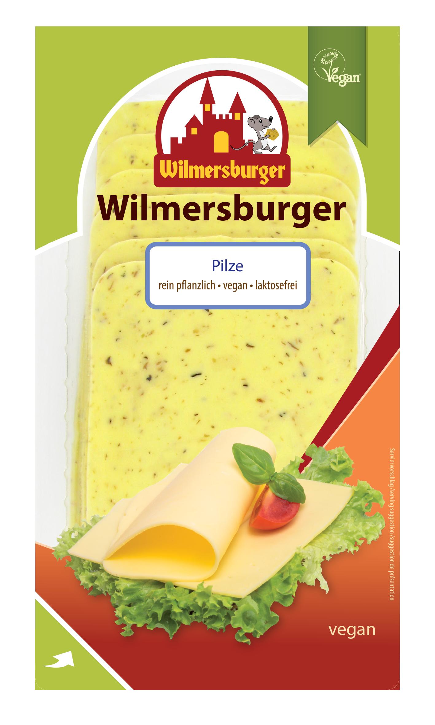 Wilmersburger plátky - hríbové